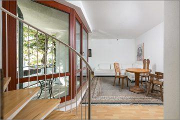 """""""Bezugsfreie Maisonette mit zwei Balkonen, Gäste-WC und TG-Stellplatz (optional) nah am See"""", 13086 Berlin, Maisonettewohnung"""