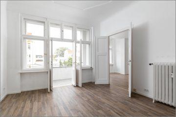 """""""Freie, große, helle zwei Zimmer Altbauwohnung mit gutem Schnitt in hervorragender Lage"""", 12163 Berlin, Etagenwohnung"""