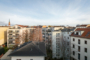 """""""Individuelle Penthousewohnung mit Aufzug am Senefelderplatz"""" - Blick aus den hofseitigen Fenstern"""