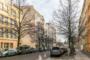 """""""Individuelle Penthousewohnung mit Aufzug am Senefelderplatz"""" - Blick in die Schwedter Str."""