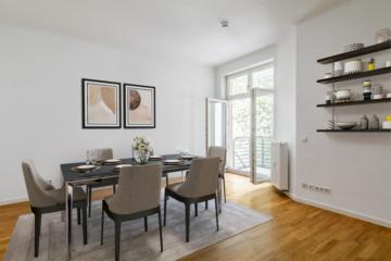 Ruhig und Zentral gelegene 3 Zimmer mit Balkon und Aufzug., 10243 Berlin, Etagenwohnung
