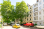 """""""Wunderschöne und helle DG-Wohnung mit Balkon zwischen Stadtpark und Kanal"""" - Blick in die Straße"""